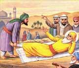 Guru Nanak en la Meca