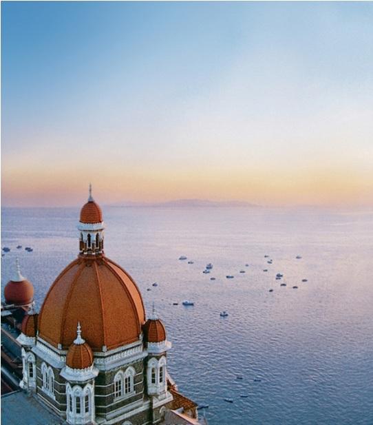 Cúpula del hotel Taj Mahal de Mumbai
