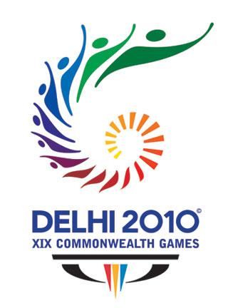 Logo de los Juegos de la Commonwealth Delhi 2010