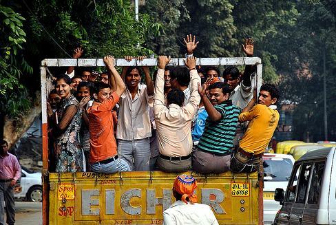 Postal de Delhi. Foto: profas_vln (Flickr)