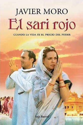 El sari rojo, portada de Seix Barrall