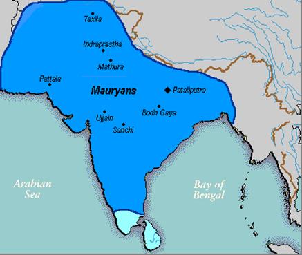 India bajo el reinado de Ashoka