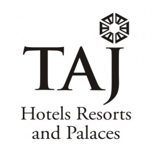 Logo TAJ in black