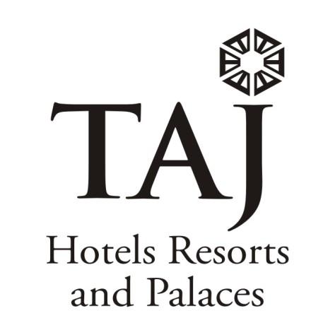 Logo TAJ in black