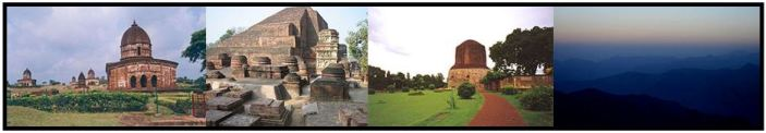 Bishnupur, Nalanda, Sarnath, Himalayan National Park