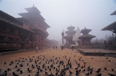 Bhaktapur, plaza durbar