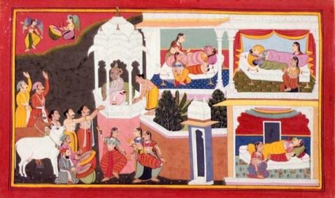 Los cuatro hijos de Dashratha