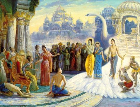 Rama consigue la mano de Sita