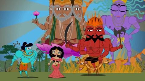 El secuestro de Sita, en un videojuego infantil
