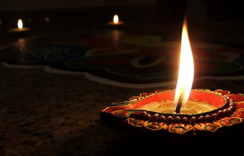 Viajar a India en noviembre - Diwali