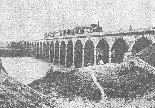 Primer tren en India