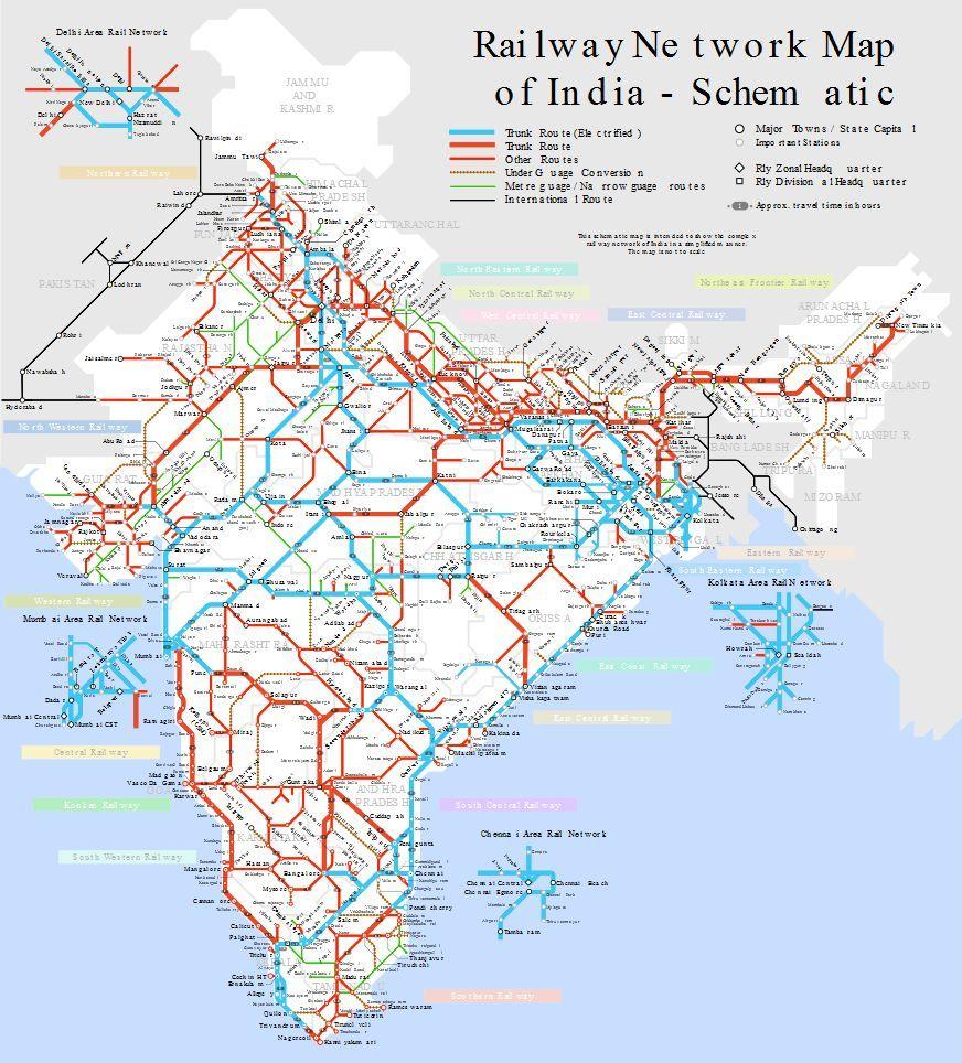 Red ferroviaria India (Wikipedia)