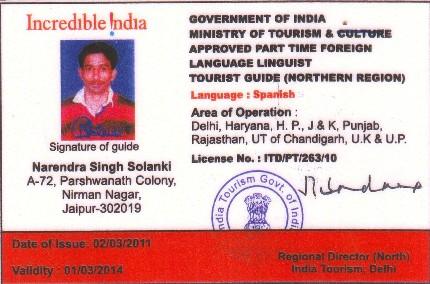 Licencia oficial de Narendra Singh