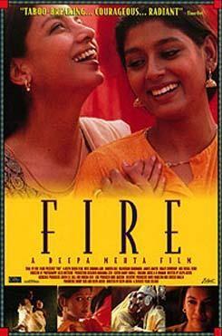 Fuego, portada película
