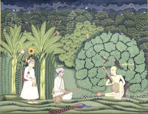 Akbar y Tansen