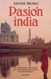 Pasión india, portada