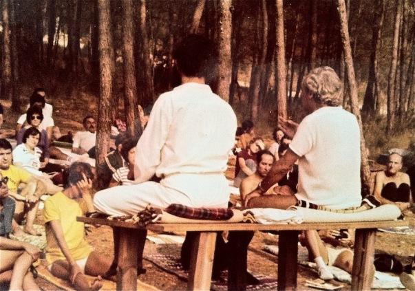 Seminario de yoga en Collbató