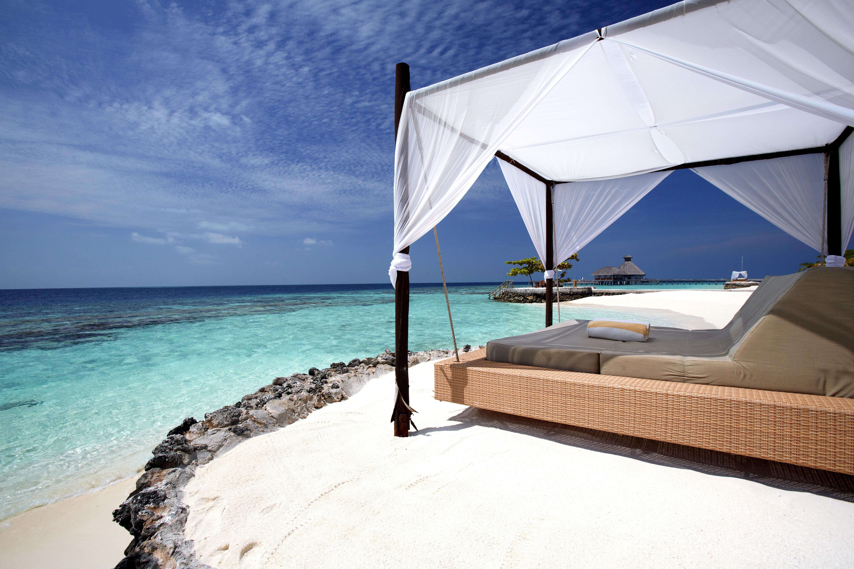 Maldivas spas de lujo junto al arrecife for El mejor hotel de maldivas