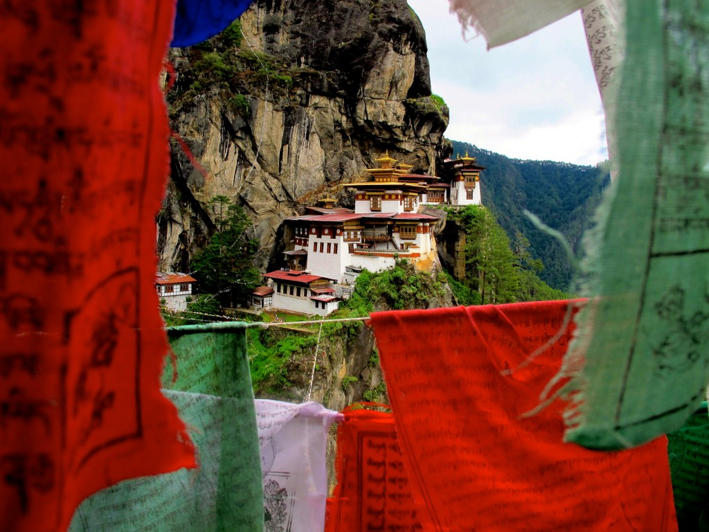 Visitar el Nido del Tigre en Bután