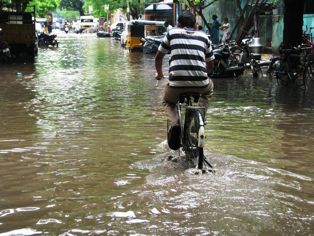 Monzón en Chennai