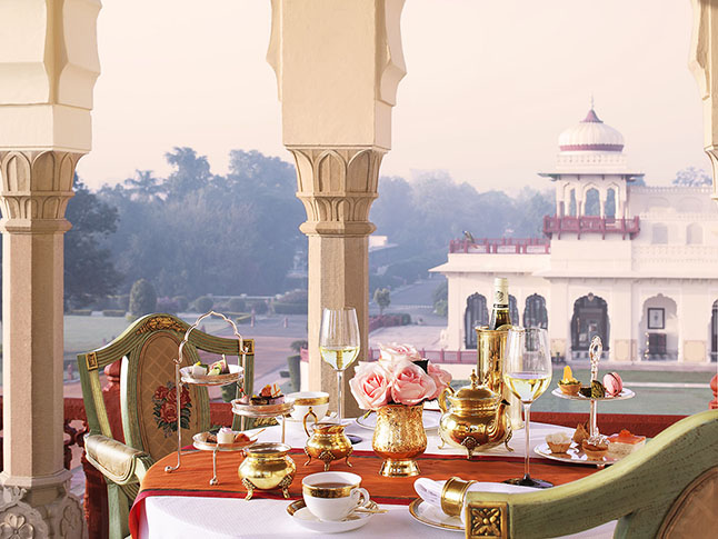 Afternoon Tea at Rambagh Palace