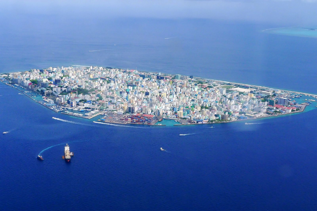 Malé, Maldives from the air