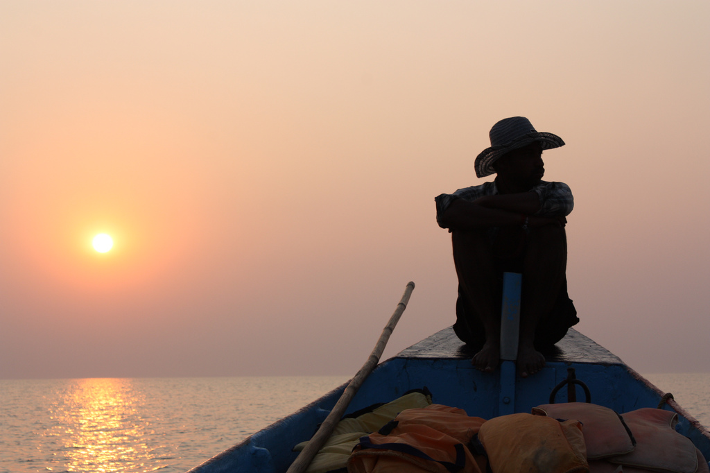 FISHERMAN IN GOKARNA