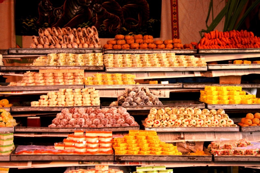 Candy store in Rajasthan