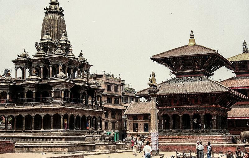 The Krishna Mandir and the Jagannarayan temple