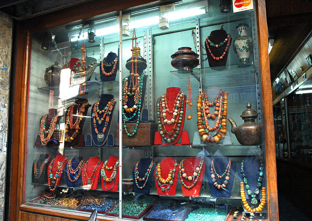 Traditional Tibetan style necklaces
