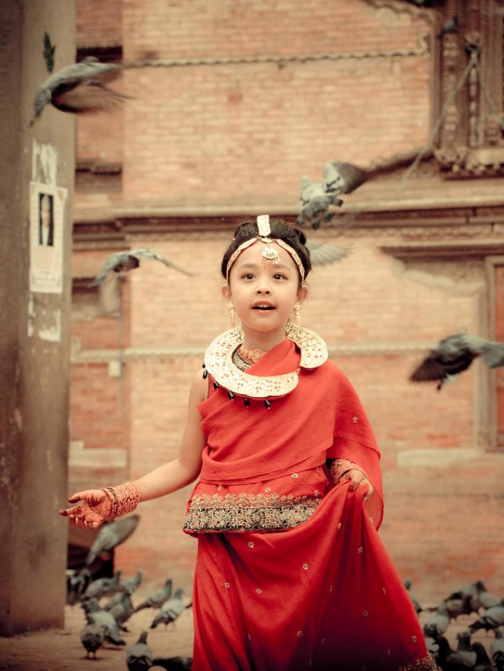 Kumari, la diosa viviente de Nepal