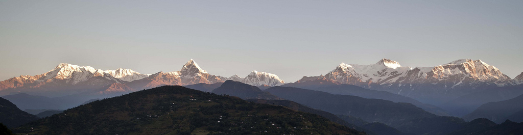 Panoramic of Annapurna