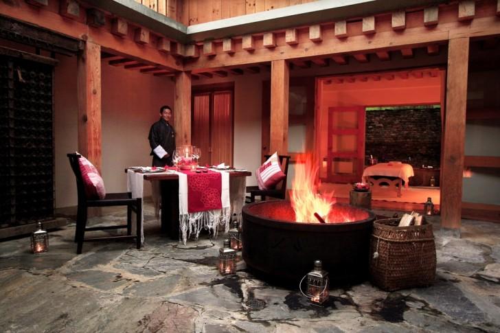 Gastronomía en Bután