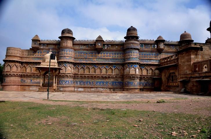 Gwalior fort, Fortaleza de Gwalior