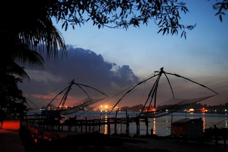 Fort Kochi. Viajar a India en febrero