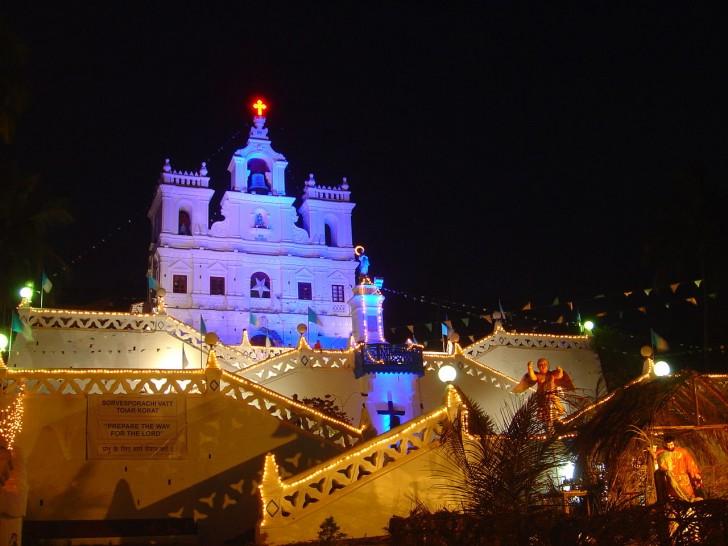Navidad en Panjim, Goa