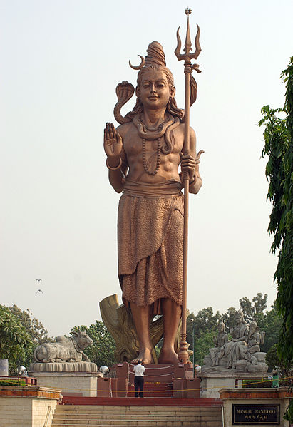 Shiva en Delhi. Viajar a India en febrero