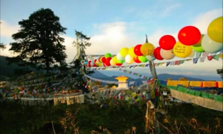 Globos de Bután