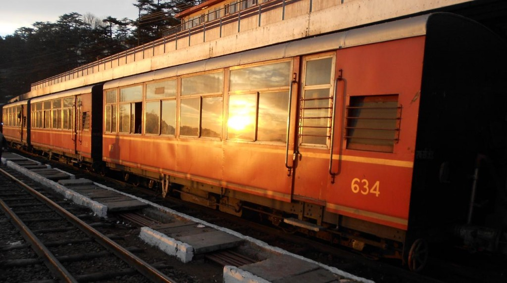Trains from India: Kalka Shimla Railway