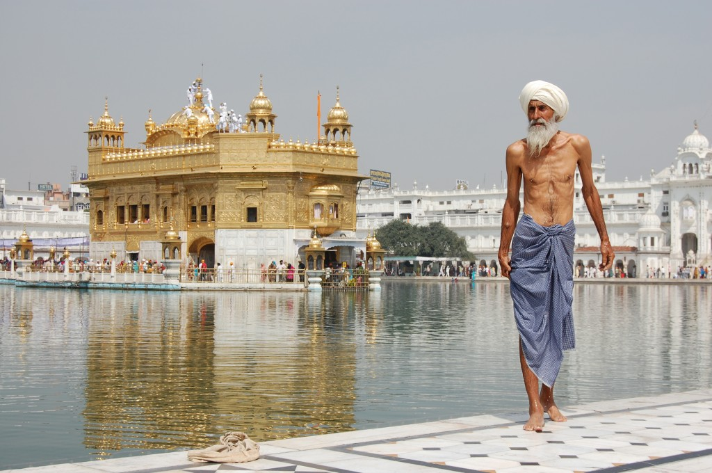 Calor en India - Golden Temple (Amritsar) -