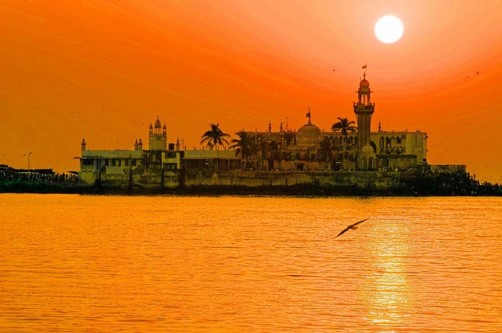 Calor en India - Haji Ali Dargah