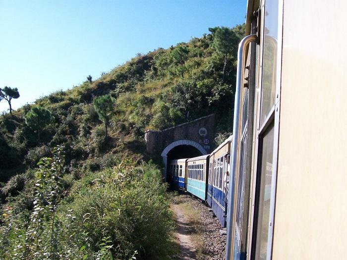 Trenes en India: Shimla train