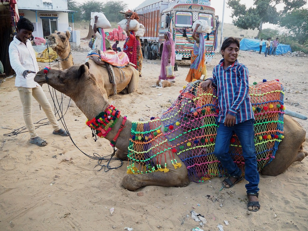 Pushkar Fair - activities in the desert of Rajasthan
