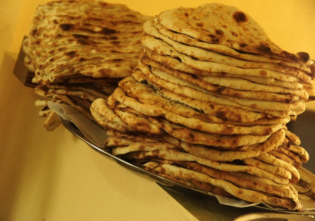 Indian breads - Naan