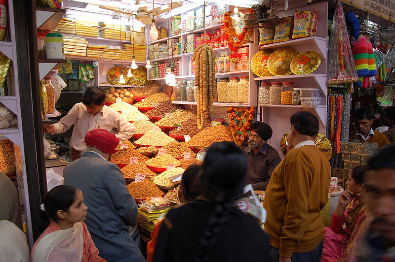 What to see in Delhi - Chandni Chowk