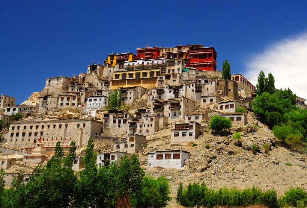 Festival de Buda Monasterio Thiksey en Ladakh c Jagadip Singh