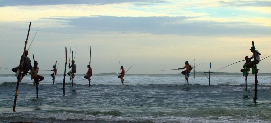 Sri Lanka 2019: pescadores acróbatas