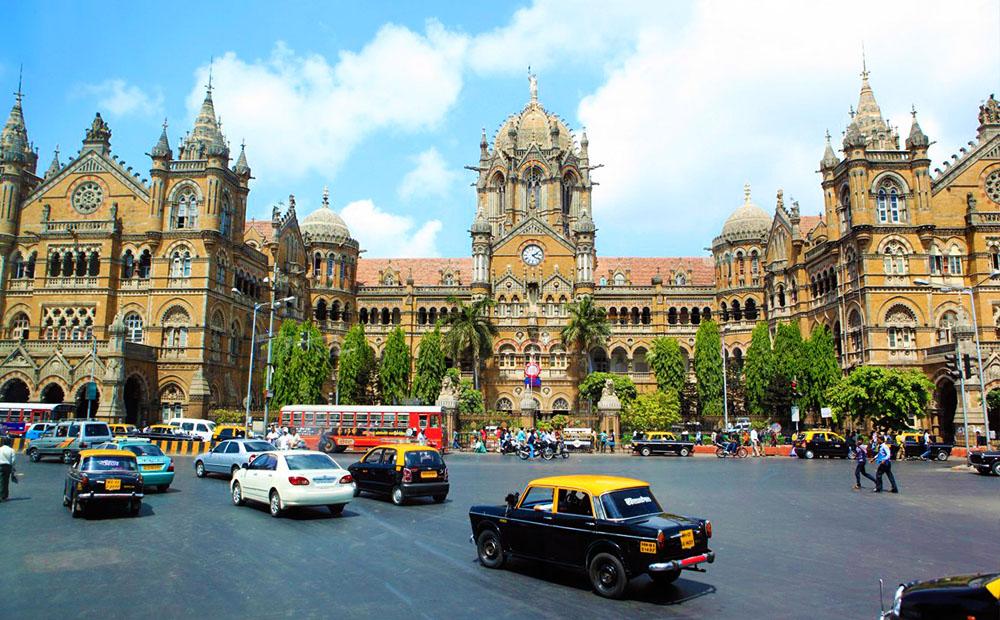 Victoria Terminus en Mumbai