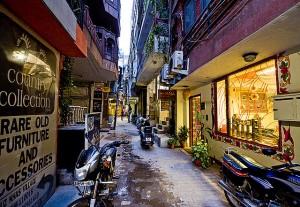 New Delhi to see: Hauz Khas Village