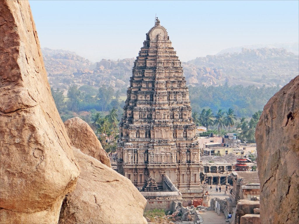 Hampi India - Virupaksha1 Temple